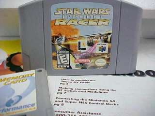 N64 STAR WARS SYSTEM IN BOX MINT W/PAPERS&RED PAK AND STAR WARS GAME