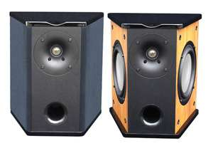 Premier Acoustic PA 6S Surround Speakers Pair Cherry