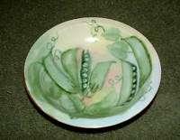Rosenthal Selb Bavaria Handpainted Bowl Pea Pod Vine