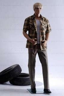 Male mannequin display manikin mannequin   Big Zac