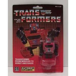 Transformers G1 Reissue Autobot Cliffjumper: Toys & Games