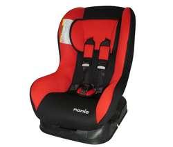 la imagen : Silla para coche grupo 0+/1 Basic Comfort First negro/rojo